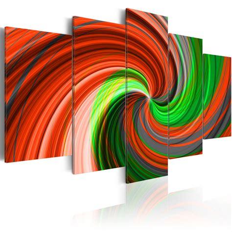 si鑒e design quadro turbinio verde e rosso design si it