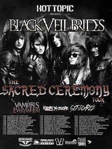 Black Veil Brides Tour Poster by AndyBsGlove on DeviantArt