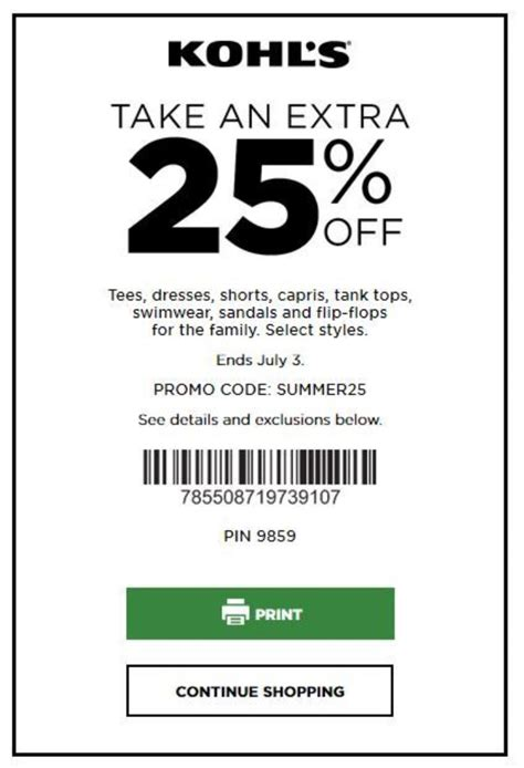heres   save money  kohls coupons shopping