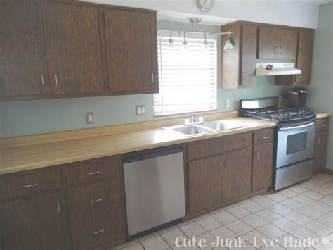 How To Reface Laminate Cabinets Yourself  Modern Style