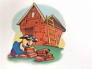 Quia les trois petits cochons 2 for Maison brique et bois 1 quia les trois petits cochons 2