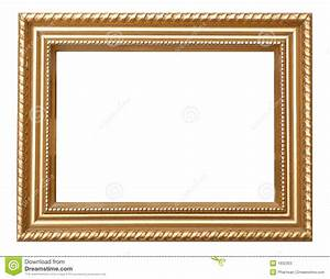 Vintage Gold Frame stock image. Image of portrait, square ...