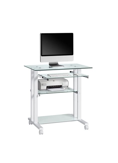 but bureau verre table verre informatique