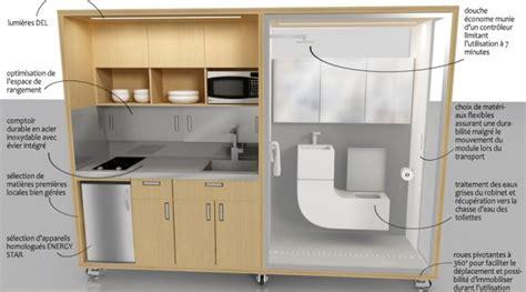 cuisine compacte design une mini cuisine salle de bains compacte remporte un