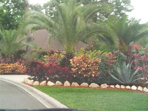 tropical front garden ideas landscaping front yard landscaping ideas tropical