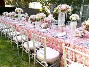 bridesmaids luncheon bridal luncheon american event rentals