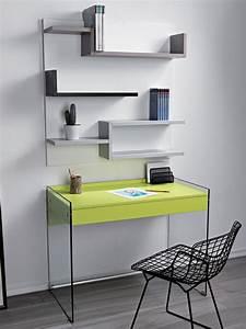 Schreibtisch Aus Glas : kombination mit schreibtisch aus glas und b cherregal aus laminat my sediarreda ~ Markanthonyermac.com Haus und Dekorationen