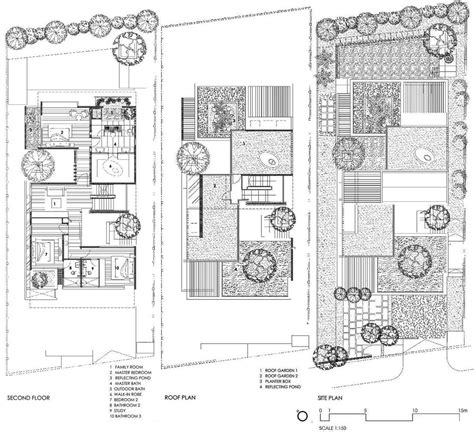 house site plan sunset vale house singapore by wow architects