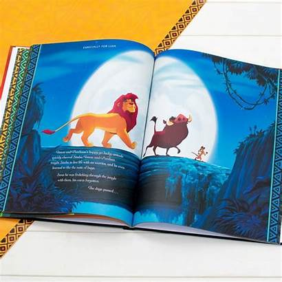 Lion King Personalised Storybook Disney Personalized Jumbo