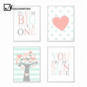 Peach Tree Hear... Nursery Canvas Quotes