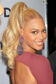 Beyonce Golden Blonde Hair