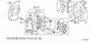Nissan Titan Disc Brake Caliper Guide Pin Bolt  Disc Brake