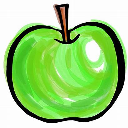 Apple Clipart Painted Clip Pepper Fruit Transparent