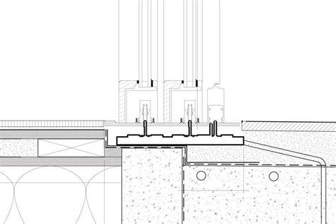 specing  liftslide door residential architect