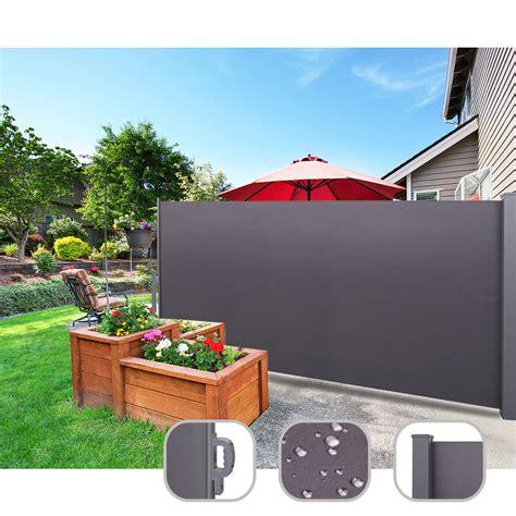Sichtschutz Garten Ebay by Seitenmarkise Ausziehbar Sichtschutz Windschutz