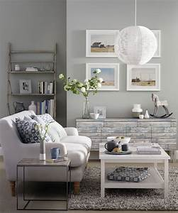 Grey living room ideas ideal home for Living room furniture to match grey walls