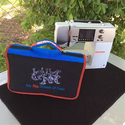 Bernina Accessory Case Storage Travelling Embroidered