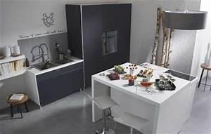 Ilot Central Petite Cuisine : ilot centrale cuisine en image ~ Teatrodelosmanantiales.com Idées de Décoration