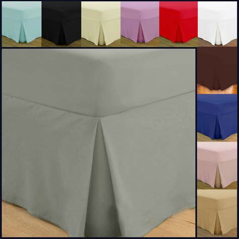 Valance Sheet by Fitted Valance Sheets Cotton Bedding