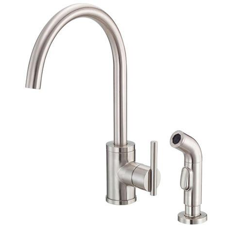 danze parma kitchen faucet danze parma side mount single handle side sprayer kitchen