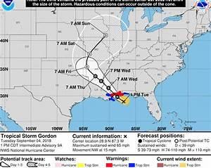 Hurricane Gordon MAP: Where is Tropical Storm Gordon now ...