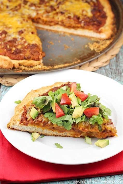 100 Taco Pizza Recipes On Pinterest Pizza Recipes