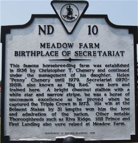 Meadow Farm Historical Marker