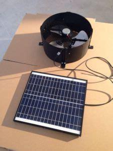 Solar Powered Garage Fan china garage exhaust 35w solar powered wall fan china