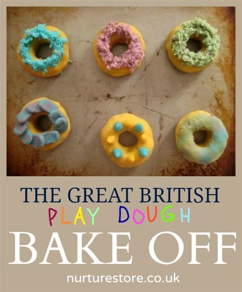 Play Dough Cakes Great British Bake Off