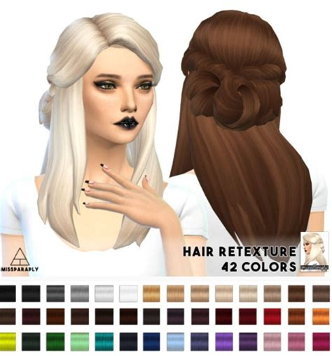 paraply lumia lover sims sawyer hairstyle retextured