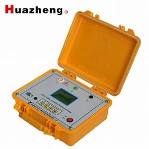 China High Voltage Insulation Test Equipment Mega Meter
