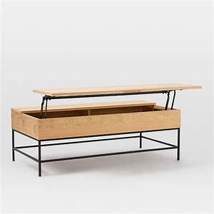 Industrial storage coffee table west elm for West elm industrial storage coffee table