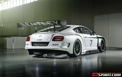 First Bentley Continental Gt3 Customer Team Confirmed