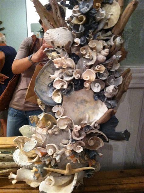 finally  cool shell mirror seashell crafts shell