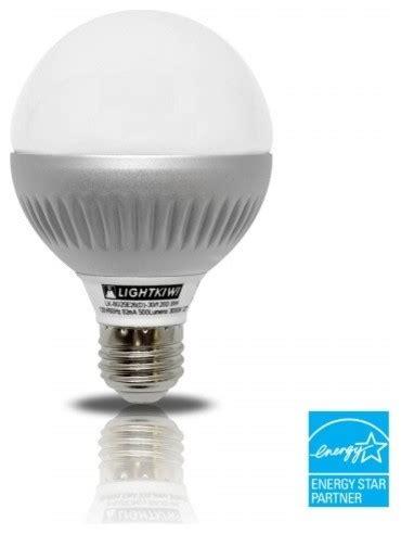 lightkiwi k4824 g25 warm white dimmable led globe light