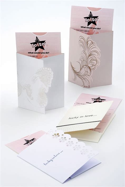 lottery ticket wedding favours lottery gift ideas