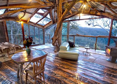log homes interior the 39 s best treehouse with a spa is also the