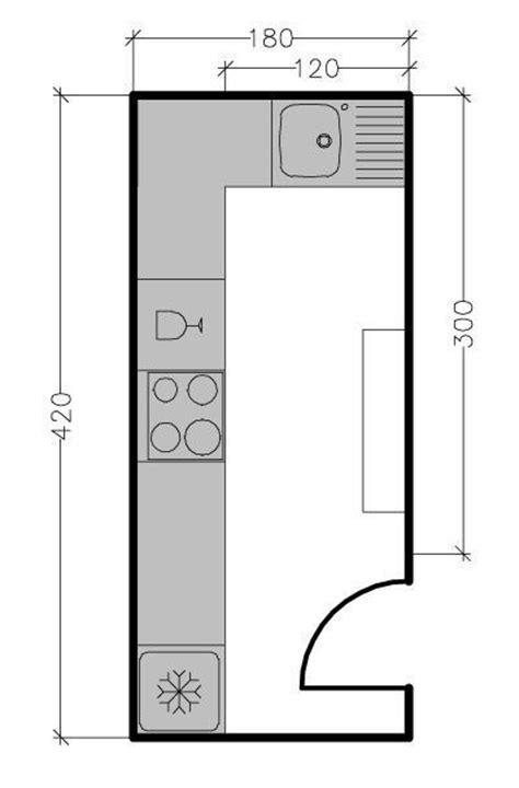 plan de cuisine en l plan de cuisine en l 8 exemples pour optimiser l 39 espace