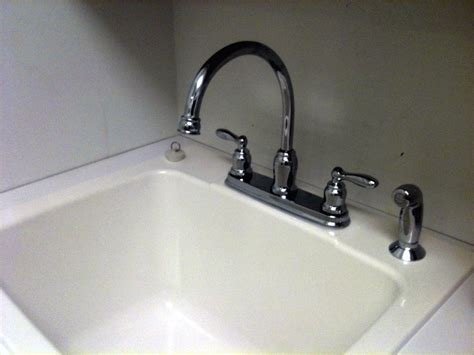 utility sink faucet with sprayer alluring utility sink faucet with sprayer the decoras