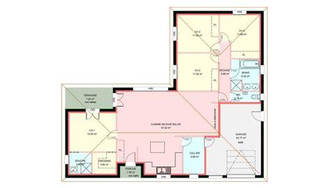 chambre des artisans maisons plain pied 4 chambres de 120 m construite par