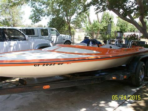 Bubble Deck Jet Boat by 1977 Hallett 1977 Bubble Deck Ski Boat Powerboat For Sale