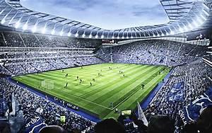 Download Wallpapers Tottenham Hotspur New Stadium  English