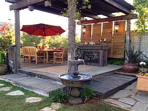 outdoor space design ideas and inspiration garden patio