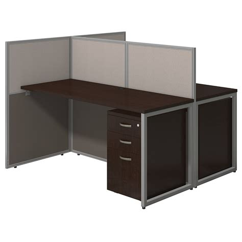 two desks 24x60 collaborative work spaces with storage
