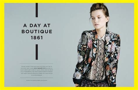 stylish page layouts in magazine design print mag book type