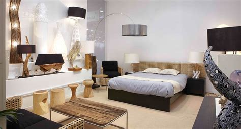 lit avec tete cannage bambou azura