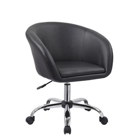 roulettes pour fauteuil de bureau fauteuil à tabouret chaise de bureau noir bur09020