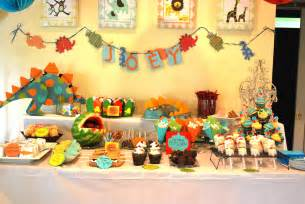 Dinosaur Themed Birthday Party Food Ideas