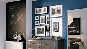 Grand Cadre Deco : casa c t d co l 39 art d 39 accrocher cadres et tableaux ~ Teatrodelosmanantiales.com Idées de Décoration