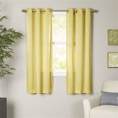 wayfair basics wayfair basics grommet single curtain panel reviews wayfair